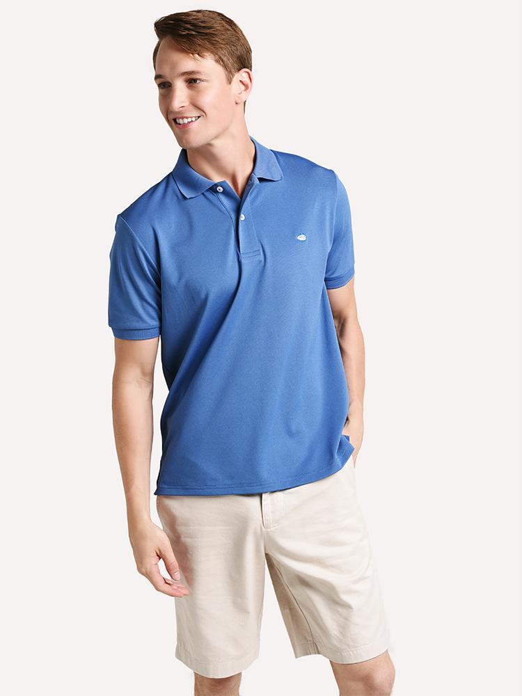 Southern Tide Men's Short Sleeve Jack Performance Pique Polo