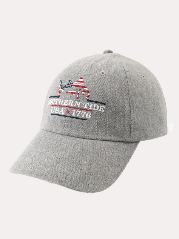 a854460a Southern Tide Men's Patriots Embroidered Heather Hat