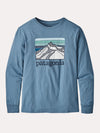 Patagonia Boys' Long-Sleeved Graphic Organic Cotton T-Shirt