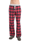 True Grit Men's Melange Buffalo Check Pant
