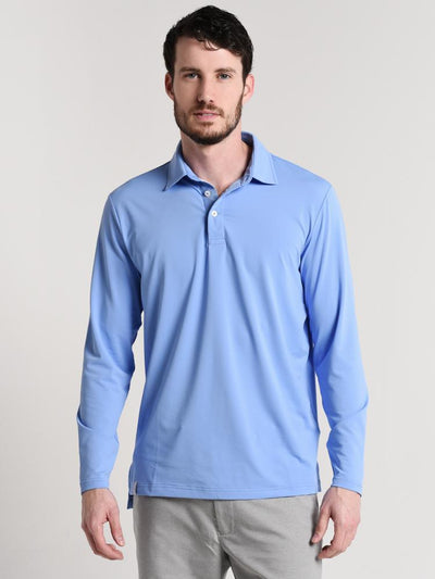 RLX  Long Sleeve Lightweight AirflowActive Fit Polo