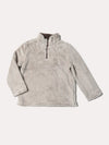 True Grit Boys' Double Plush 1/4 Zip Pullover