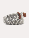 Peter Millar Men's Flannel Diamond Belt