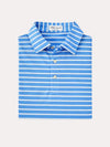 Peter Millar Coley Stripe Stretch Mesh Polo