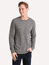 Faherty Luxe Heather Reversible Crew