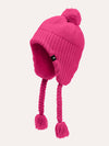 The North Face Girls' Purrl Stitch Earflap Beanie