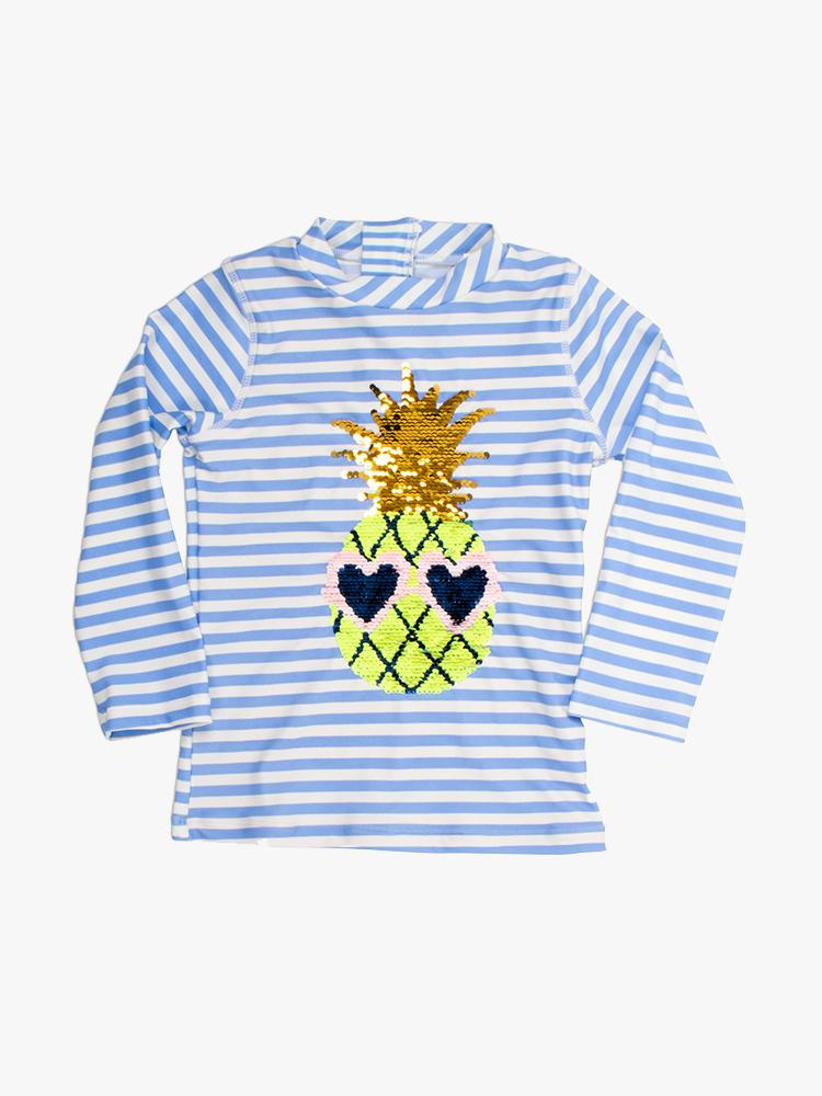 Shade Critter R.G. Flip Sequins Pinapple Stripe