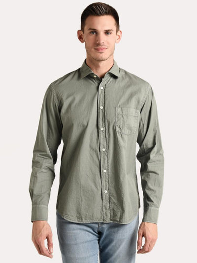 Hartford Men's Paul Pat Woven Shirt