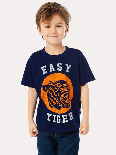 Chaser Boys' Cotton Short Sleeve Easy Tiger Tee