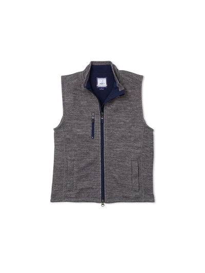 Johnnie-O Tahoe Jr. 2-Way Zip Front Fleece Vest