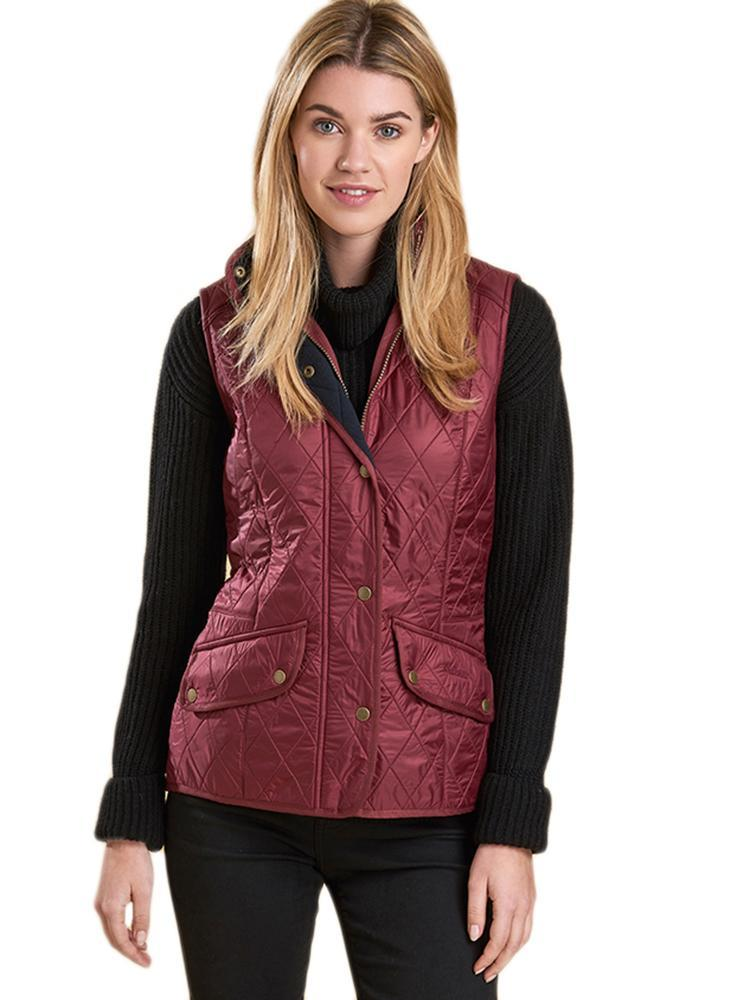 barbour ladies gilet