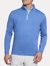 Peter Millar Perth Stretch Loop Melange 1/4 Zip