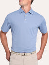 Peter Millar Solid Stretch Mesh Polo