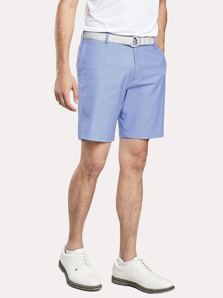 Peter Millar Carrboro Seagrass Fancy Performance Short