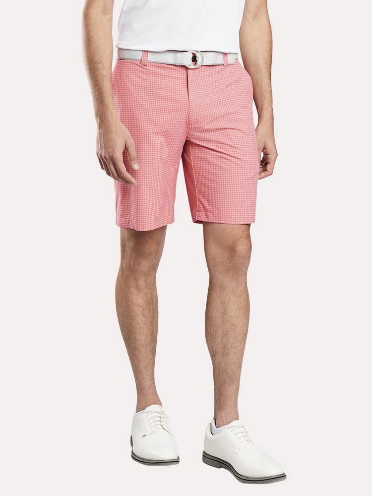 Peter Millar Shackleford Hybrid Gingham Short