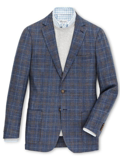 Peter Millar Horizon Windowpane Sportscoat