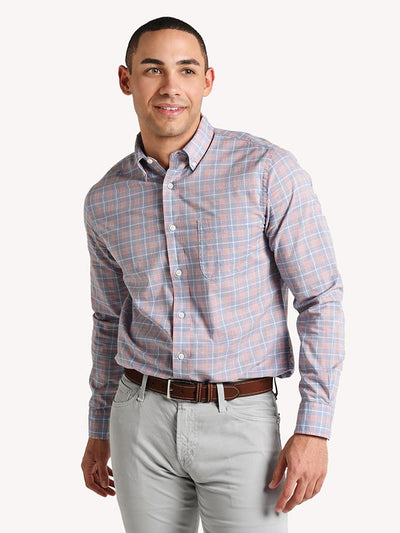 Faherty Brand Stretch Poplin Shirt