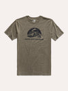 The North Face Men's Short Sleeve Pony Wheels Tri Blend Tee