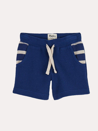 Hatley Nautical Boys' Blue Baby Shorts