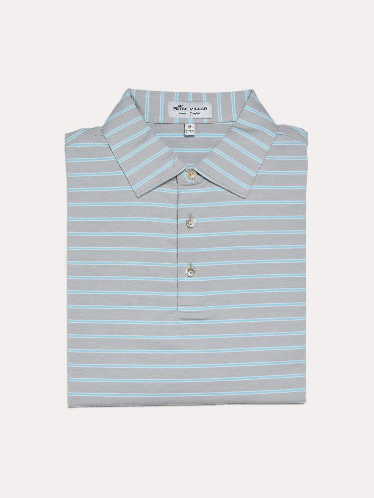 59ae9af0f Peter Millar Men's Market Stripe Stretch Jersey Polo - saintbernard.com