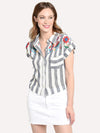 THML Embroidered Stripe Shirt
