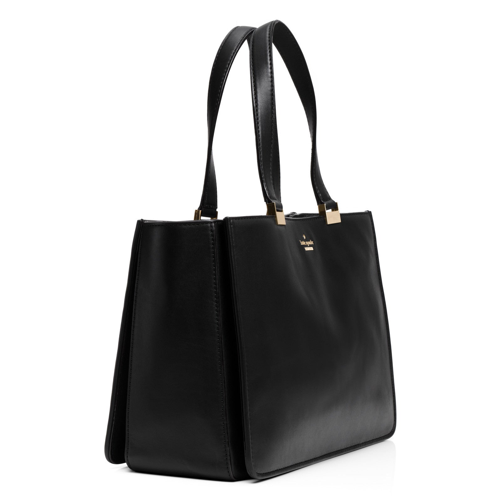 Frieda Handbag with Phone Charger: Black Tote