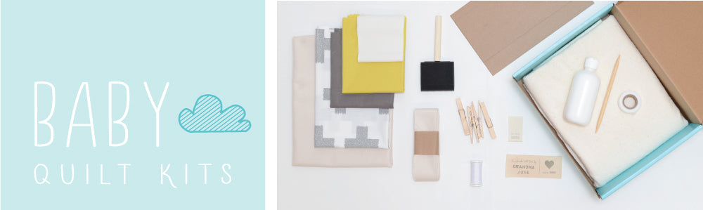Itty Bitty Baby quilt kit supplies
