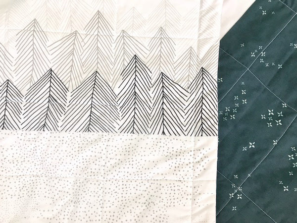 Quilt Kit - Sleepy Mountains