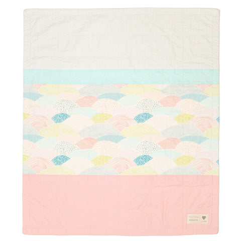 rolling hills - pre-cut baby quilt kit