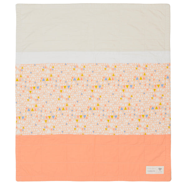 desert sunset - pre-cut baby quilt kit