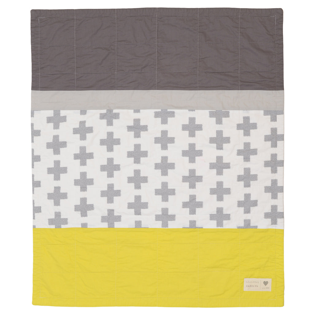 X's pre-cut baby quilt kit