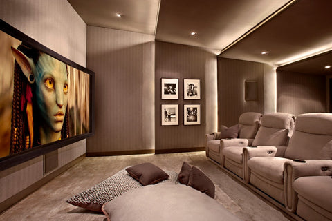 Home theatre interiors by eight audio