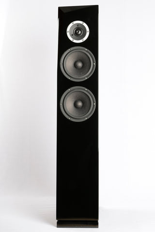 Satori Rinjani 2.5 Way Floor Standing Speakers - Glossy Black