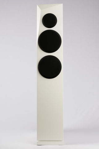 Satori Rinjani 2.5 Way Floor Standing Speakers - White Satin