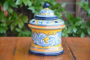 Traditional inkwell from Puente del Arzobispo, Spain