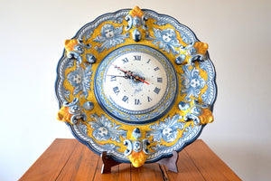 Wall clock from Puente del Arzobispo, Spain