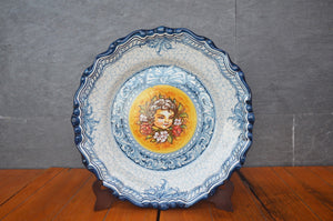 Plate With Child From Puente Del Arzobispo, Spain