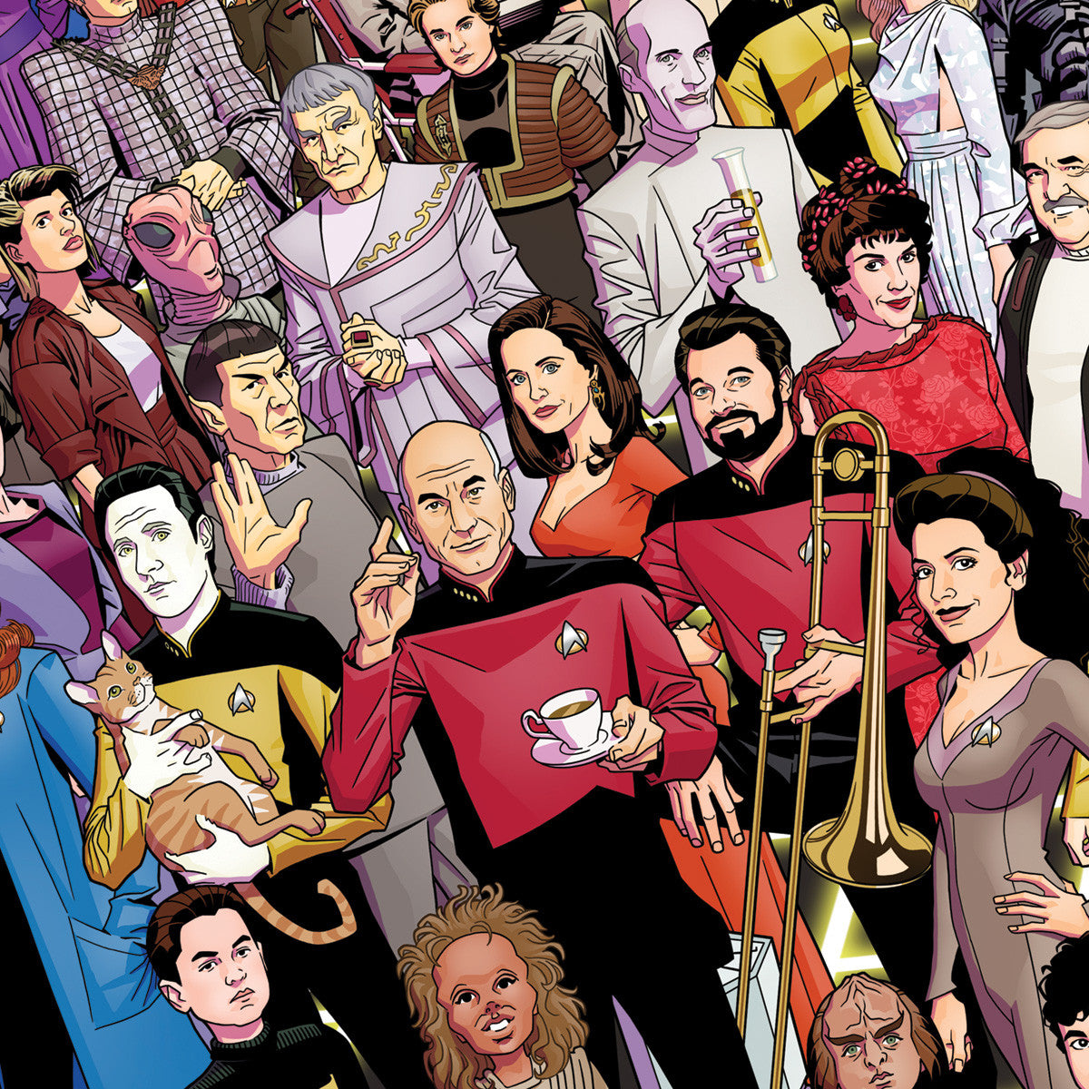 TNG 30th Anniversary Poster Set