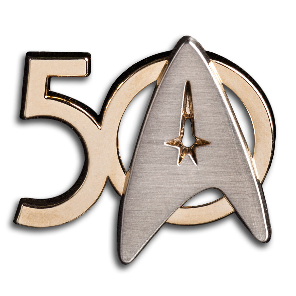 Star Trek 50th Anniversary Lapel Pin