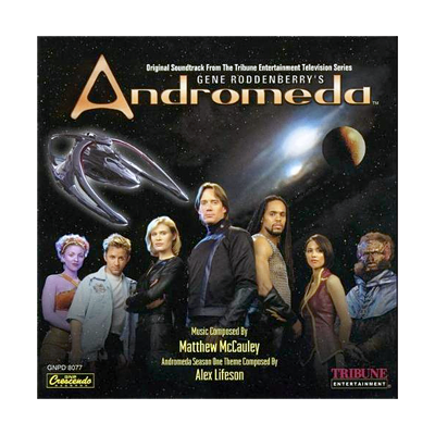 Gene Roddenberry's Andromeda Soundtrack (CD)