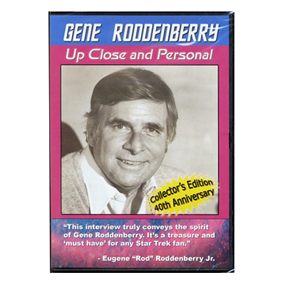 Gene Roddenberry: Up Close and Personal DVD