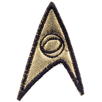 TOS Starfleet Science Officer Patch (3rd Season)