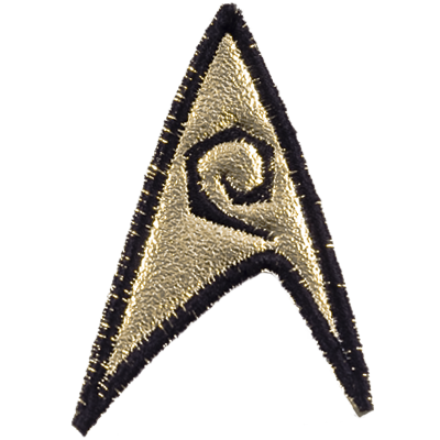 TOS Starfleet Engineering Officer Patch (3rd Season)