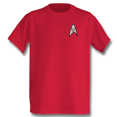 Star Trek Engineering Officer T-Shirt