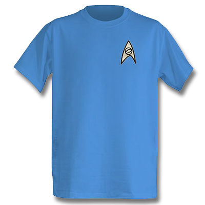 Star Trek Science Officer T-Shirt