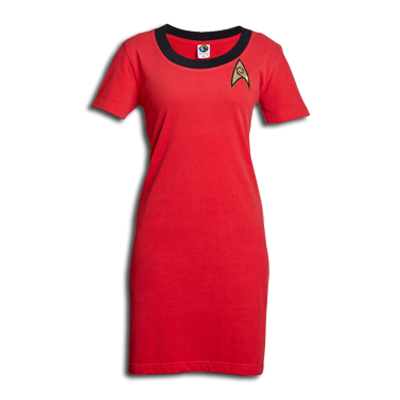 Star Trek Engineering Officer T-Shirt Dress