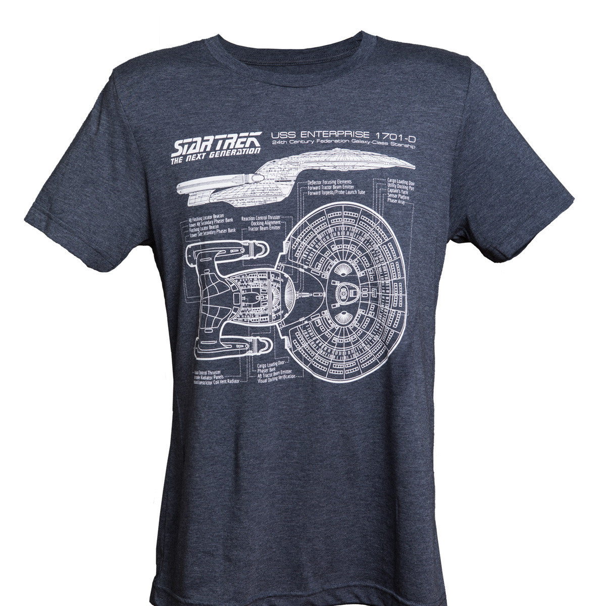 TNG 30th Anniversary T-Shirt (Navy Blue)
