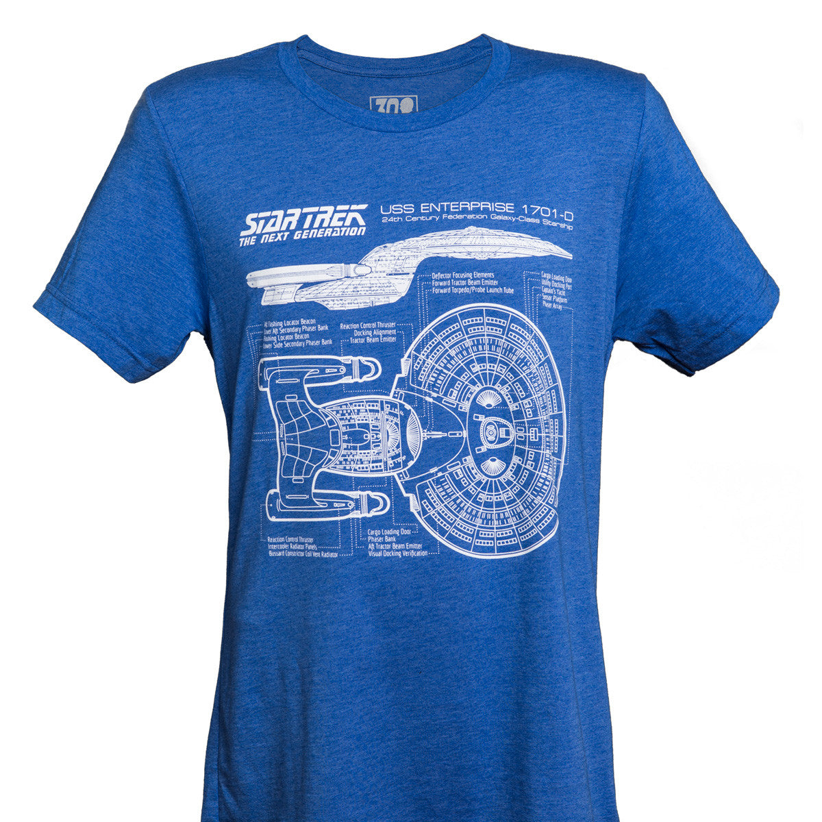 TNG 30th Anniversary T-Shirt (Royal Blue)