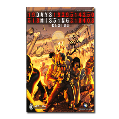 Days Missing: Kestus #2 (Signed Jorge Molina Cover)