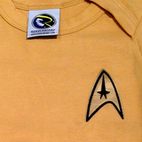 Star Trek Starfleet Command Baby Uniform